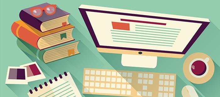 ilustração de uma tela de computador